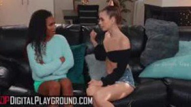 Demi Sutra and Jill Kassidy eating eachothers pussy